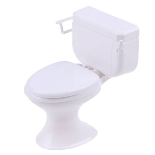 Dollhouse Furniture Vintage Bathroom Toilet Miniature Toys Dolls Accessories HOT