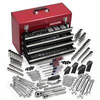Craftsman 365 Pc Mechanics Tool Set W/ Craftsman Tool Box 4 Drawers
