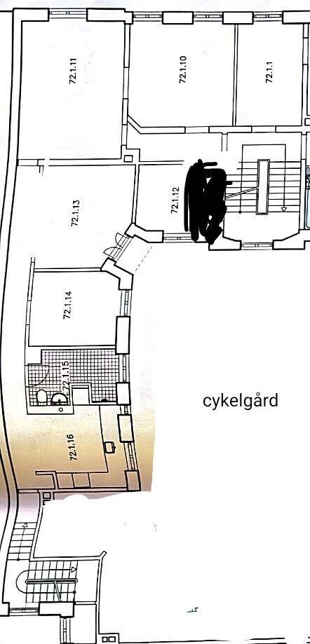 5 vær. andelslejlighed, 138 m2, Månedlig ydelse kr 3700