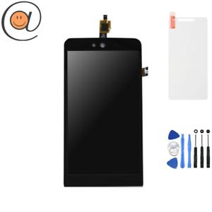 LCD-Ecran-tactile-assembles-Wiko-Rainbow-Jam-3G-Noir-Outils-Protection