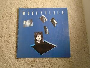 MOODY BLUES 1986 OTHER SIDE OF LIFE TOUR CONCERT PROGRAM Signed Autographed