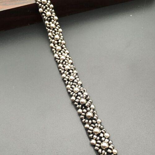 Perlenband Perlen Stoff Spitzenbesatz Hochzeitskleid Dekor DIY Nähzubehör