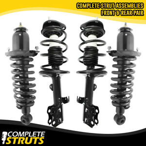 Rear Pair Quick Complete Struts /& Coil Springs for 2009-2010 Pontiac Vibe AWD