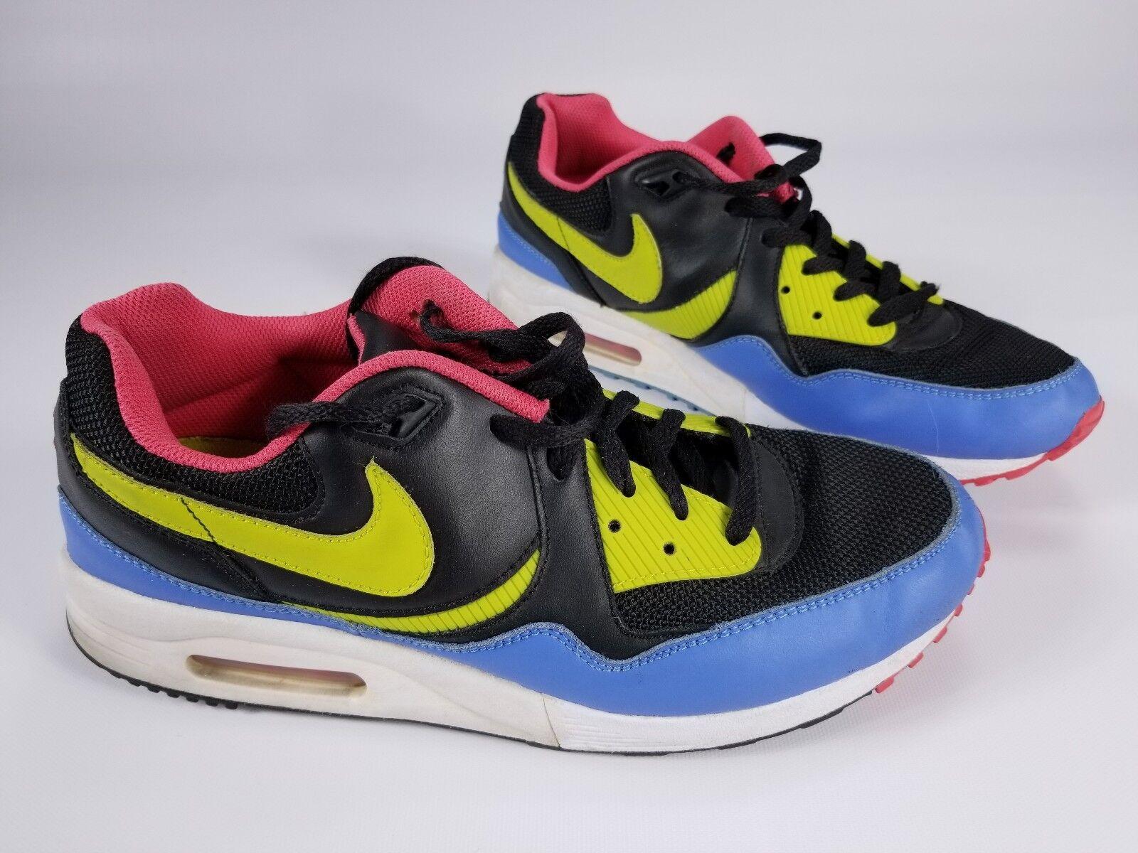 Nike mens air max light 2007 neon - swoosh mens Nike schuhe turnschuhe sz 10 nur selten e46162