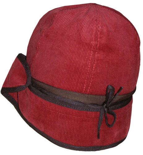 L or M HAT BNWT RARE SIZE PAUL SMITH RED CORDUROY DEERHUNTER CAP