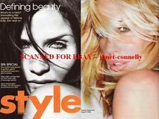 HELENA CHRISTENSEN Kate Moss DARYL HANNAH Photos By Rankin Style Mag 31 DEC 2006