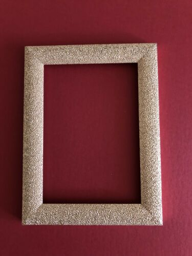 GOLD Pack Of 5. Picture Frame Glitter Frame 7x5 Photo Frame