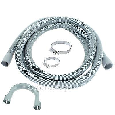 SPARES2GO Drain Outlet Hose for Gorenje Dishwasher 2.5M, 30mm // 22mm