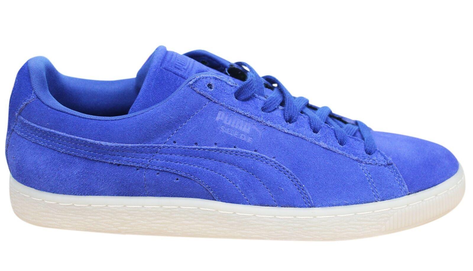 Puma Wildleder klassisch bunt blau 360850 Leder Schnürbar Herren Turnschuhe 360850 blau 06 P 17c173