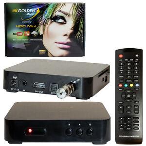 kabel receiver hd dvb c tv kabelreceiver kabelfernsehen gm hdc mini digital hdtv. Black Bedroom Furniture Sets. Home Design Ideas