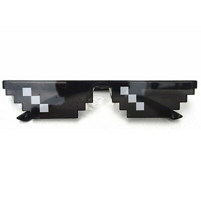 Thug Life Glasses 8 Bit Pixel Deal With IT Sunglasses Unisex Sunglasses HOTSELL