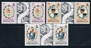 Bermuda 1981 Royal Wedding GUTTER PAIRS SG 4368 MNH - Buntingford, Hertfordshire, United Kingdom - Bermuda 1981 Royal Wedding GUTTER PAIRS SG 4368 MNH - Buntingford, Hertfordshire, United Kingdom