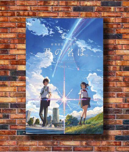 T2301 20x30 24x36 Silk Poster Your Name Anime Movie Art Print
