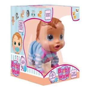 Baby Wow Babywow Teo Poupée Bebe 'Interactive Nouveau-né Imc Toys