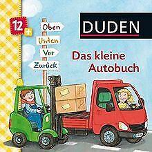 Duden-Das-kleine-Autobuch-Oben-unten-vor-zuruck-ab-1-Livre-etat-bon