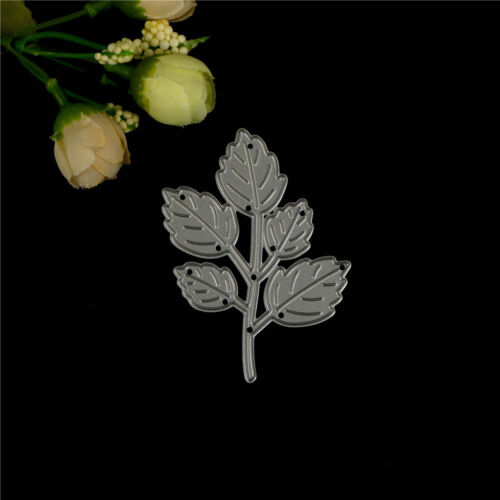 1pc Delicate leaf  Metal Cutting Dies DIY Scrapbooking Paper Cards Craft MW