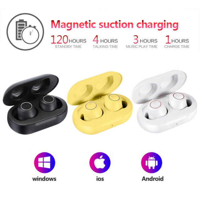 Hot Bluetooth 5.0 Headsets TWS Wireless Earphones Mini Earbuds Stereo Headphones