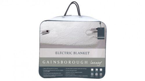 Gainsborough Super Soft Fleecy 50cm Deep Electric Blanket King|Queen|Double Bed