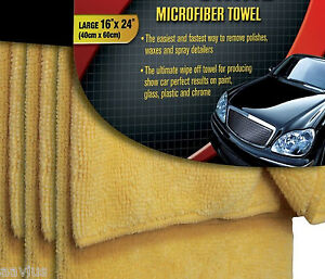 Best Microfiber Auto Car Wash Cloth Vehicle Detailing Wax Cleaner - Show car wash and wax