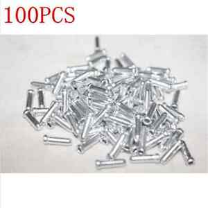 100PC-Bike-Bicycle-Shifter-Brake-Gear-Inner-Cable-Tips-Ends-Caps-Crimps-Ferrules