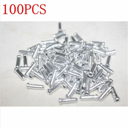 100PC Mini Bicycle Shifter Brake Gear Inner Cable Tips Ends Caps Crimps Ferrules