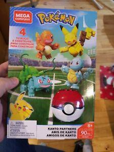 Mega Construx Pokemon Kanto Partners 90 Pieces GCN21 NEW