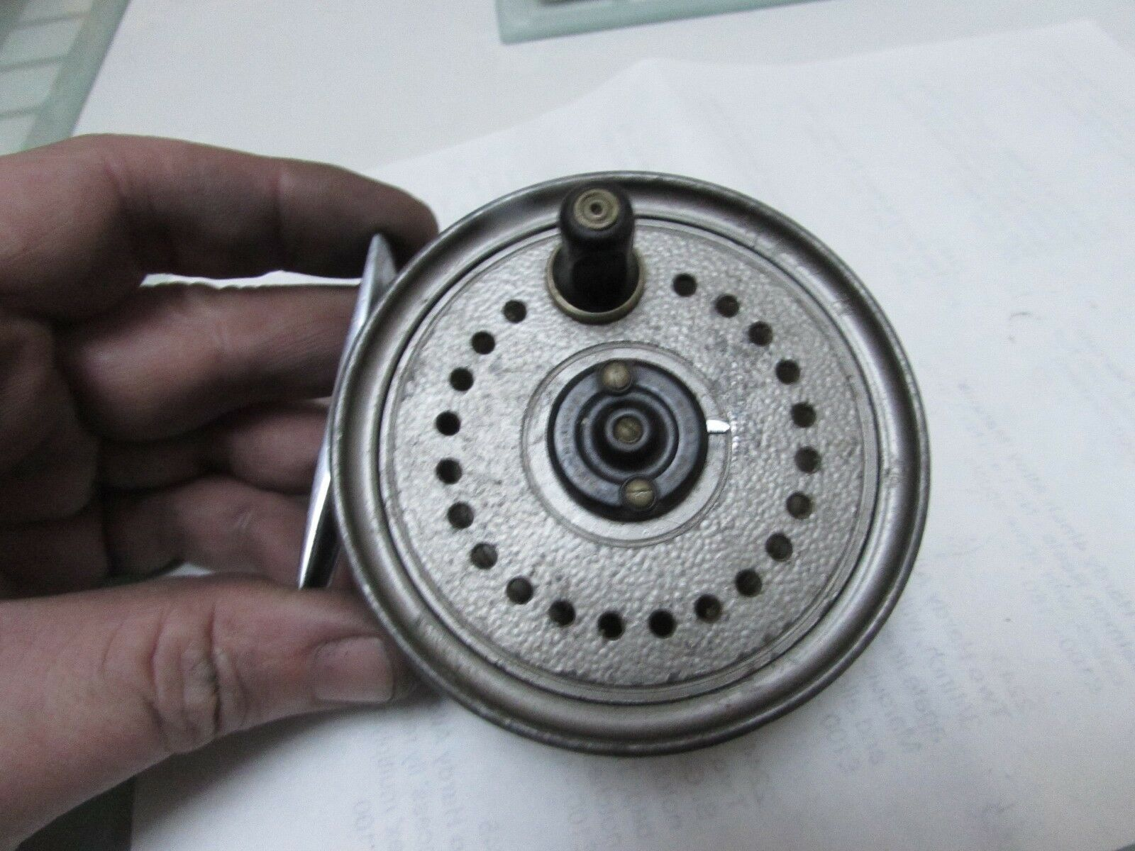 Good vintage youngs early beaudex trout fly fishing reel 3.5   lineguard