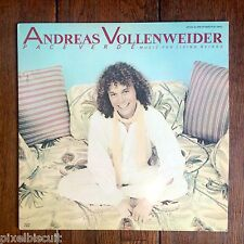 """ANDREAS VOLLENWEIDER """"PACE VERDE: MUSIC FOR LIVING BEINGS"""" 12"""" EP MAXI SINGLE EX"""