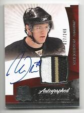 10-11 Nick Johnson The Cup Auto Rookie Card RC #135 Sweet Jersey Patch 027/249
