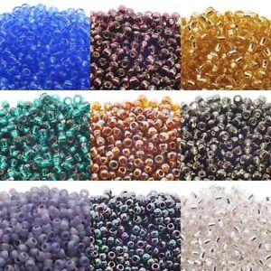 Toho-Glass-Japenese-Seed-Beads-Size-6-0-3-5mm-55-Colours-x-10-Grams