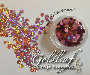 Nail art glitter studs sequin discs dots 3mm pink holographic ebay image is loading nail art glitter studs sequin discs dots 3mm prinsesfo Image collections