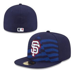 e590dd2d San Francisco Giants New Era Cap MLB July 4th Stars & Stripes ...