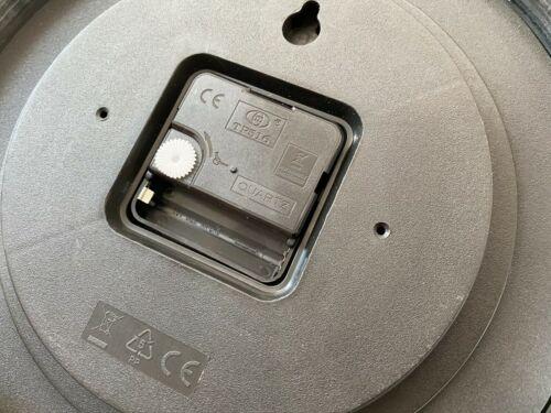 25 cm Horloge Horloge De Cuisine Quartz Bürouhr hm025 Mebus Aluminium Quartz Horloge Ø env