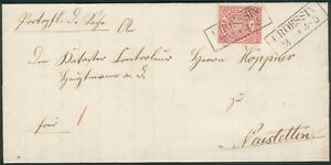 NDP-Brief-CROESSIN-1871-orig-gelaufen-nach-NEUSTETTIN-RARITAT