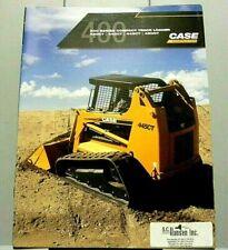 Factory 2007 Case 400 Series Compact Track Loader Sale Dealership Spec Brochure
