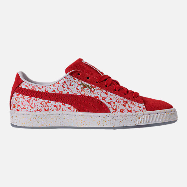 WMNS PUMA X HELLO KITTY SUEDE CLASSIC CASUAL chaussures Femme SELECT YOUR Taille