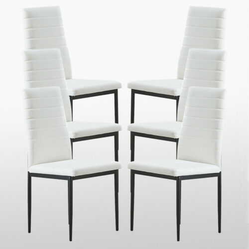 Bronx Faux Leather Dining Chair Black White Brown Grey Living Room Padded Seat White[nicht mehr vorrätig],Black[nicht mehr vorrätig],Grey[nicht mehr vorrätig],Brown
