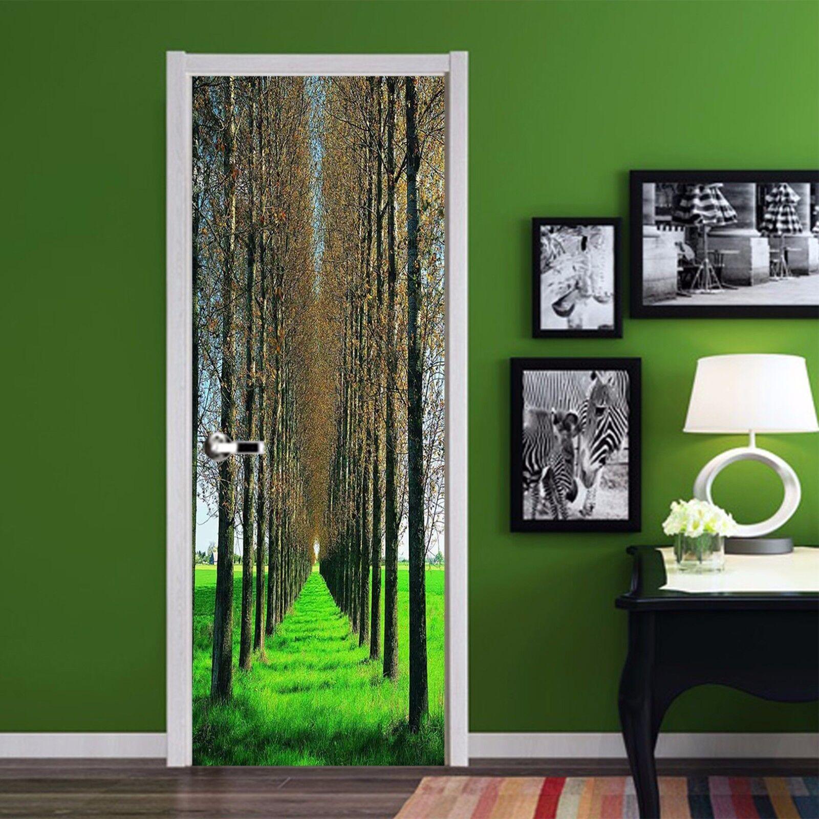 3D Grasland 770 Tür Wandmalerei Wandaufkleber Aufkleber AJ WALLPAPER DE Kyra