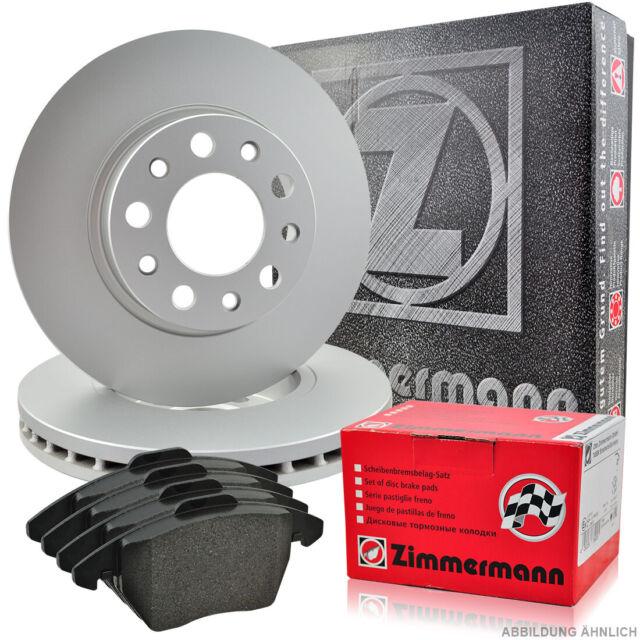 ZIMMERMANN Bremsscheiben Belüftet Hyundai Kia 280x26mm Bremsbeläge Vorne