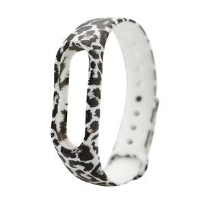 100x Band Miband Smartband Armband Watchband für Xaomi 2 Mi Silikon Leo