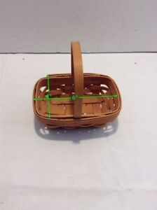 Small-Longaberger-Basket-with-Handle