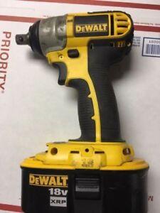 Dewalt Dc820 18v 1 2 Cordless Battery Impact Wrench 18 Volt
