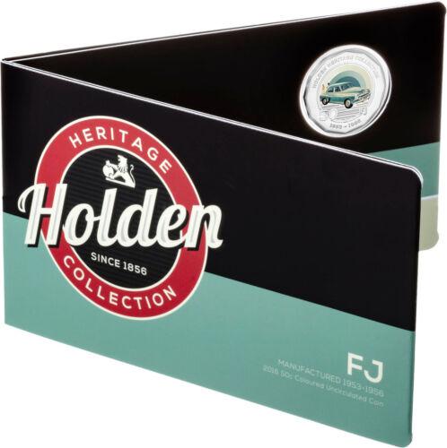 2016 FJ Holden Australian 160 Years of Holden 50 cent UNC