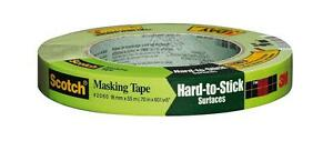 "3M Masking Tape Green 3/4"" in x 60 yds (2060)"