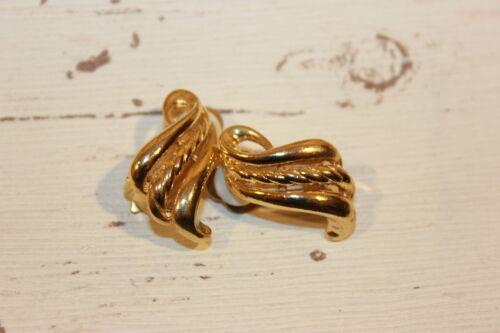 Ohrclips NEU Ohrringe Clips Gold Retro Clips Modeschmuck elegant Vintage