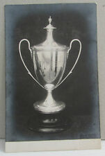 Vintage Military Sport's Trophy Postcard - Rife Brigade in Egypt Connection??