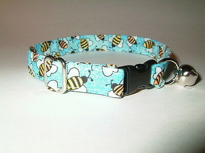 Bumble bees Print Cat Collar Collars #2