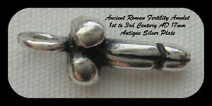 SILVER-PLATED-ROMAN-FERTILITY-AMULET-Version-1