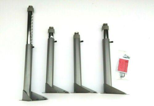 "28/"" Artcobell Table Height Adjustable Legs ~ 4 Leg Pack ~ 17 1//4/"""