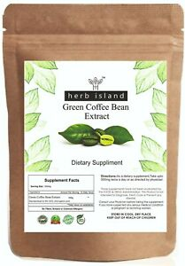 Green Coffee Bean Extract Powder 50 Chlorogenic Acid For Weight
